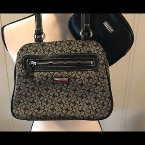 Rosetti Small handbag with matching cosmetics bag